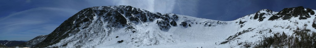 Tuckerman's Ravine panorama